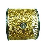 2.5Ct Diamond Pave Filigree Bangle Bracelet Silver 14k Yellow Solid Gold Pave Diamond Jewelry Manufacturer Manufacturers
