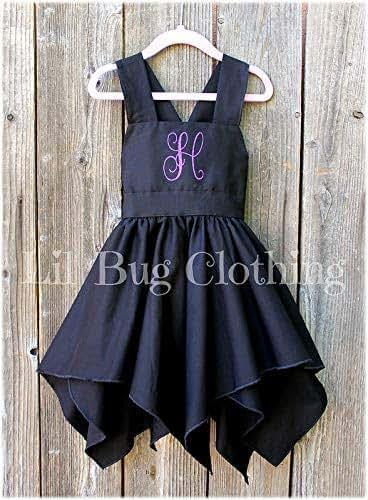 7949aeba7 Amazon.com: Halloween Witch Costume Girl Dress- Halloween Girl ...