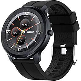 OUTAD Smart Watch with 24h Heart Rate Blood Oxygen Pressure Sleep Monitor For Android Phone iPhone, IP67 Waterproof…