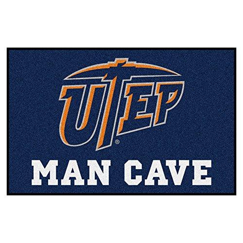 NCAA UTEP Miners Man Cave Starter Rectangular Mat Area Rug