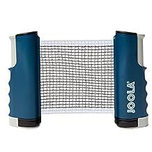JOOLA Retractable Portable Table Tennis Net, Small, Blue