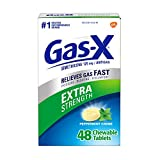 Best Gas Relief Pills - Gas-X Extra Strength Peppermint Chewable Tablet for Fast Review