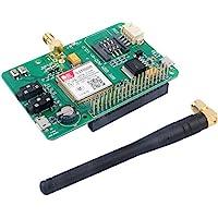 SIM800 Module GSM GPRS Expansion Board UART V2.0 Quad-Band 850/900/1800/1900 MHz 2G Network for Raspberry Pi Geekstory