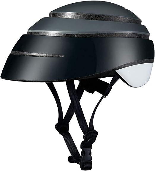 ZJJ Casco- Casco Plegable portátil de Ocio Urbano, Sombrero de ...