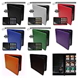 8 Z Folio 480 Playsets 1 of each Color Black Blue Red Green White Orange Purple and Brown