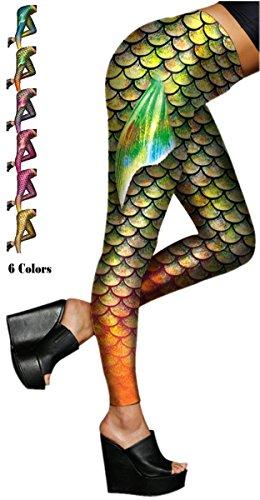 Alaroo Mermaid Leggings Scale Printing product image