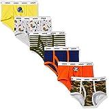 Carter's Little Boys' 6-Pack Underwear, Multi Sports, 4-5