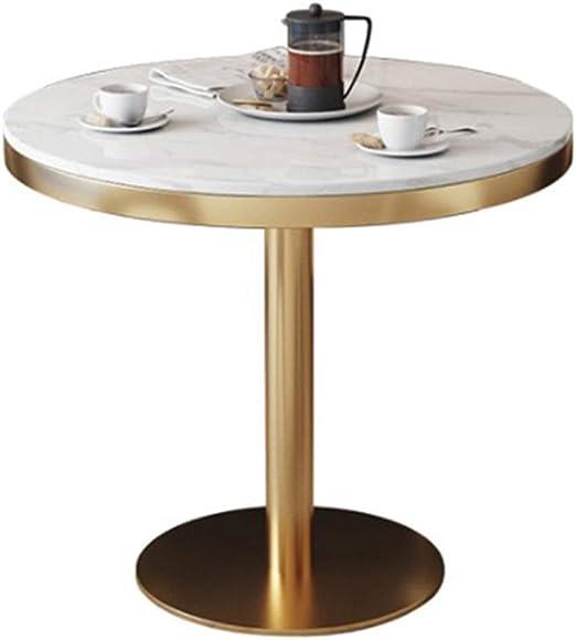 Mesa de Bar de mármol Mesas de Comedor Redondas Mesas de café ...