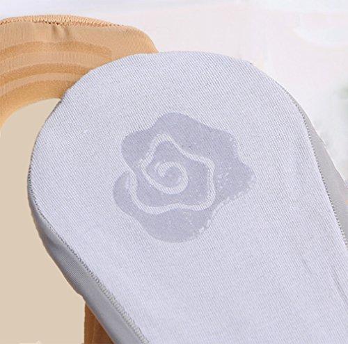 Gauss Kevin Thin Ice Silk No Show Low Cut Liner Socks Women Elastic Nylon Summer Sock Non Slip by Gauss Kevin (Image #2)
