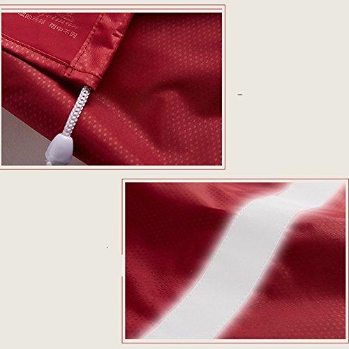 Colore B 7 dimensioni adulti Opzionale opzionali lungo Poncho ZZHF per B Colori Impermeabile Escursionismo Impermeabile yuyi impermeabile XXXXL Dimensioni Trench coat FaPwBTq