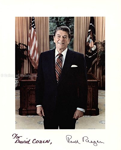 President Ronald Reagan Inscribed Photograph Signed