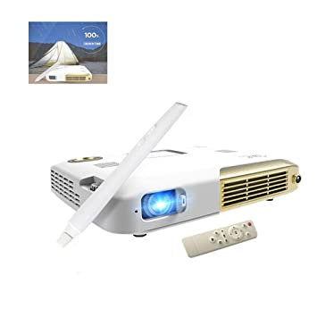 GJZhuan Proyector 4K Proyector Mini TV LED Smart Projecteur ...