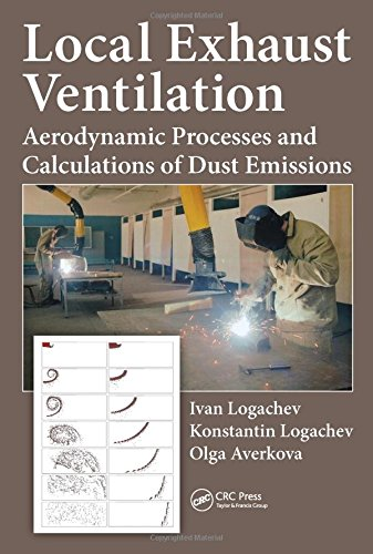 Local Exhaust Ventilation: Aerodynamic Processes and Calculations of Dust Emissions