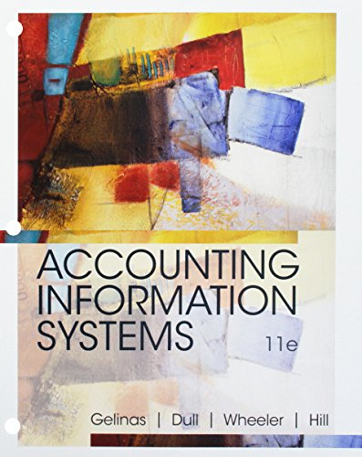 Bundle: Accounting Information Systems, Loose-Leaf Version, 11th + MindTap Accounting, 1 term (6 months) Printed Access Card ()