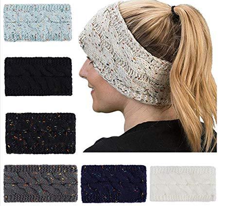 Soft Knitted Winter Headband Head Wrap Ear Warmer Best Gift for Women