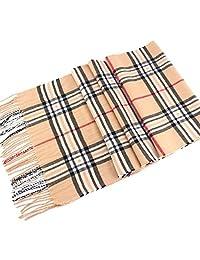 Men's Tartan Pattern Design Fashion Knitted Scarf Scarves Fall/Winter Wrap NEW