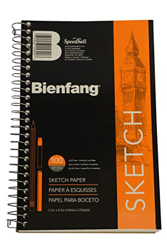 Bienfang Take Me Along Sketch Pad, 100 Sheets