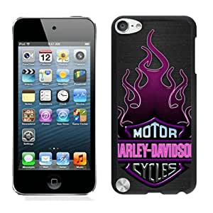 Harley Davidson Motor Company Black New Personalized Custom iPod Touch 5 Case