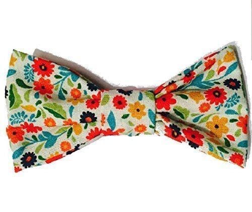 Floral Boy Bow Tie, Baby Bow Tie, Toddler Bow Tie, Mothers Day Bow Tie