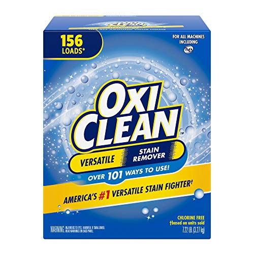 OxiClean Versatile Stain Remover Powder, 7.22 lbs. (Packaging May Vary)