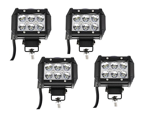 Primeprolight Bearclaw4x18w LED Work Light, Spot Beam Off - Led Light Bar Spot
