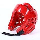 Bingirl Martial Arts Sparring Helmet Boxing Head Guard Karate Sparring Headgear Full-Face Boxing Protection Gear