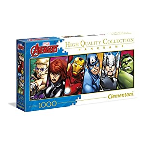 Clementoni Disney Panorama Collection The Avengers Puzzle 1000 Pezzi 39442