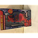 Marvel Ultimate Spider-man Amazing Smile Set Toothbrush Holder, Toothbrush ,Rinse Cup
