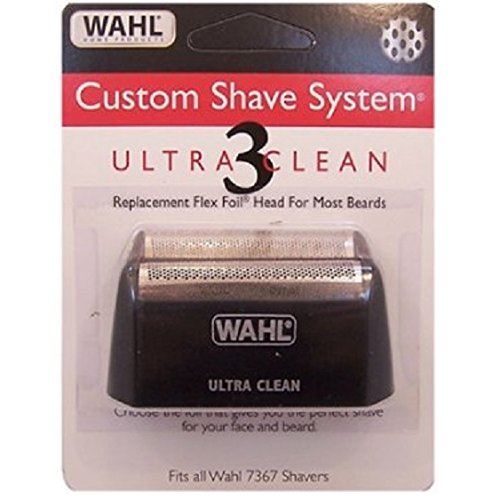Wahl Custom Shave, DynaFlex & ID Super Close/Ultra Clean Foil Screen