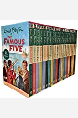 Enid Blyton Famous Five Series, 21 Books Box Collection Pack Set (Complete Gift Set Collection) Paperback