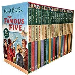 blyton five famous by books enid