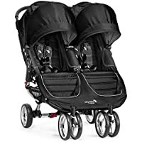 Baby Jogger 2016 City Mini Double Stroller (Black/Gray)