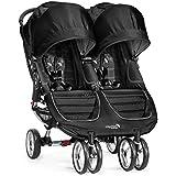 Baby Jogger 2016 City Mini Double - Black/Gray