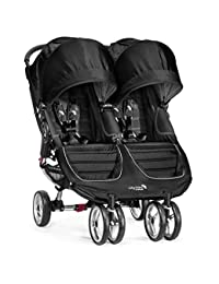 Baby Jogger 2016 City Mini Double Stroller - Black/Gray BOBEBE Online Baby Store From New York to Miami and Los Angeles