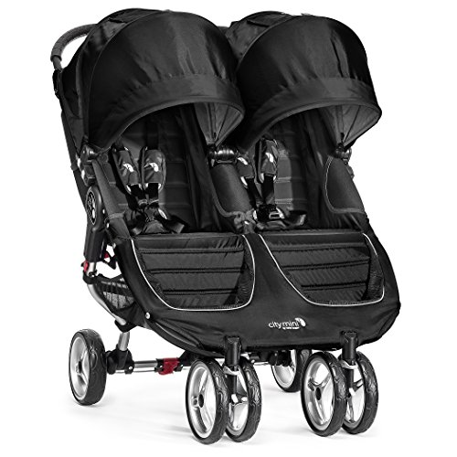 For Sale! Baby Jogger 2016 City Mini Double Stroller - Black/Gray