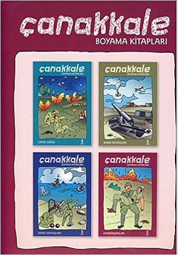 Canakkale Boyama Kitaplari 9789944263146 Amazoncom Books