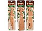 Kole Imports KL570-96 Wild Wood Animal-Shaped Ruler - Pack of 96