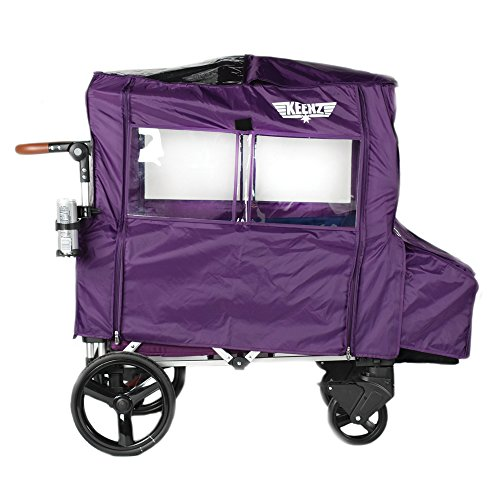 Keenz 7s Stroller All-Weather Cover (Purple)