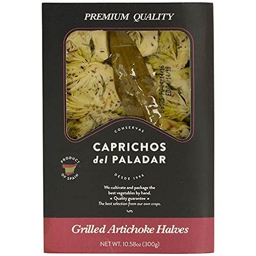 Grilled Artichoke Halves - 10.6 oz by Caprichos del Paladar