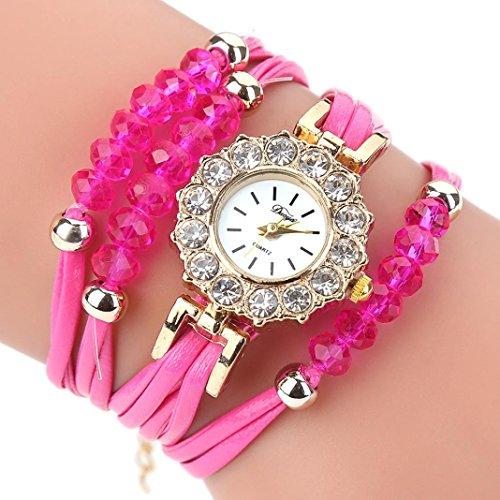 Women's Watch,AutumnFall New Duoya Brand Women Flower Quartz Watches Bracelet Wristwatch,Gift For Lady Girl,Style 2 (hot (Military Quartz Bracelet)
