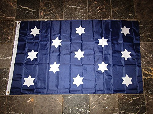(3x5 Washington HQ Headquarters Double Sided 2ply Flag 3'x5' Brass Grommets)