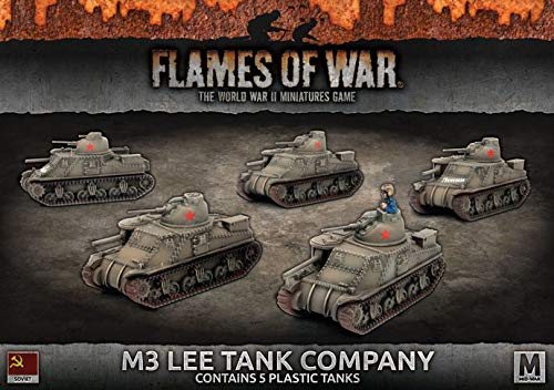 Flames of War: Mid War: Soviet Union: M3 Lee Platoon (SBX42) ()
