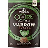 Wellness Core Marrow Roasts Natural Grain Free Dog Treats, Turkey, 8-Ounce Bag