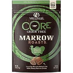 Wellness Core® Marrow Roasts Natural Grain Free Dog Treats, Turkey, 8-Ounce Bag