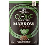 Cheap Wellness Core Marrow Roasts Natural Grain Free Dog Treats, Turkey, 8-Ounce Bag