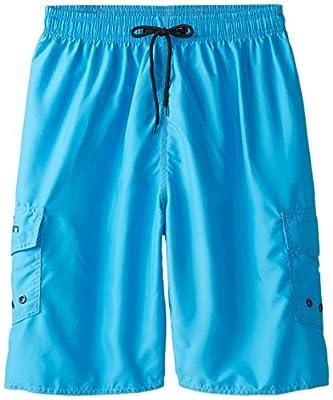 Clothin Men's Swimming Quick-dry Sports Surf Board Beach Shorts