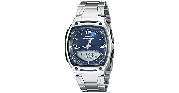 Amazon.com: Casio AW81D-2AV reloj analógico-digital ...