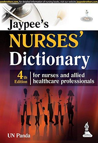 Mcgraw Hill Nurses Dictionary  Fourth Edition