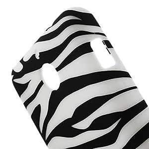 JUJEO Zebra Stripe TPU Skin Shell for Sony Xperia E1 D2004 D2005/E1 Dual D2105 D2114 - Non-Retail Packaging - Multi Color