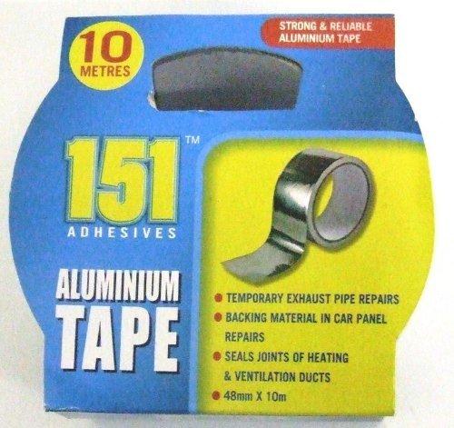 48mm x 10m Cinta Adhesiva De Aluminio